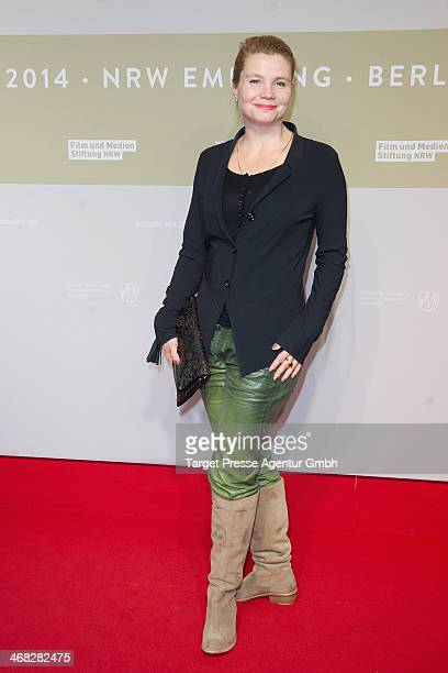 Anette Frier attends the NRW Reception at the Landesvertretung on February 9 2014 in Berlin Germany