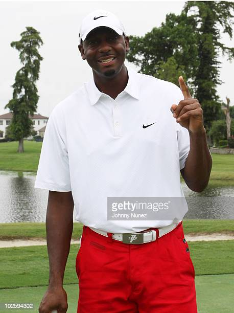 Anfernee 'Penny' Hardaway attends the CP3 Foundation Gulf Relief Foundation Golf Tournament at English Turn on July 2 2010 in New Orleans Louisiana