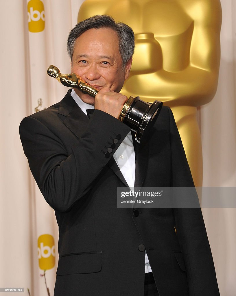 Ang Lee arrives to the 85th Annual Academy Awards Press Room held at Hollywood & Highland Center on February 24, 2013 in Hollywood, California.