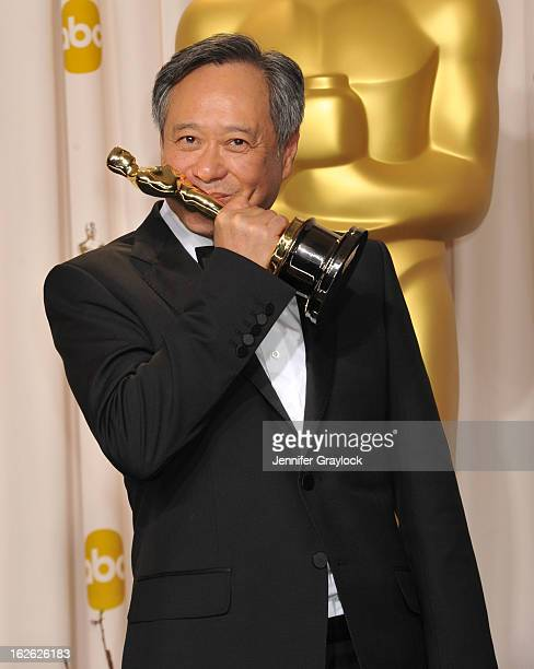 Ang Lee arrives to the 85th Annual Academy Awards Press Room held at Hollywood Highland Center on February 24 2013 in Hollywood California