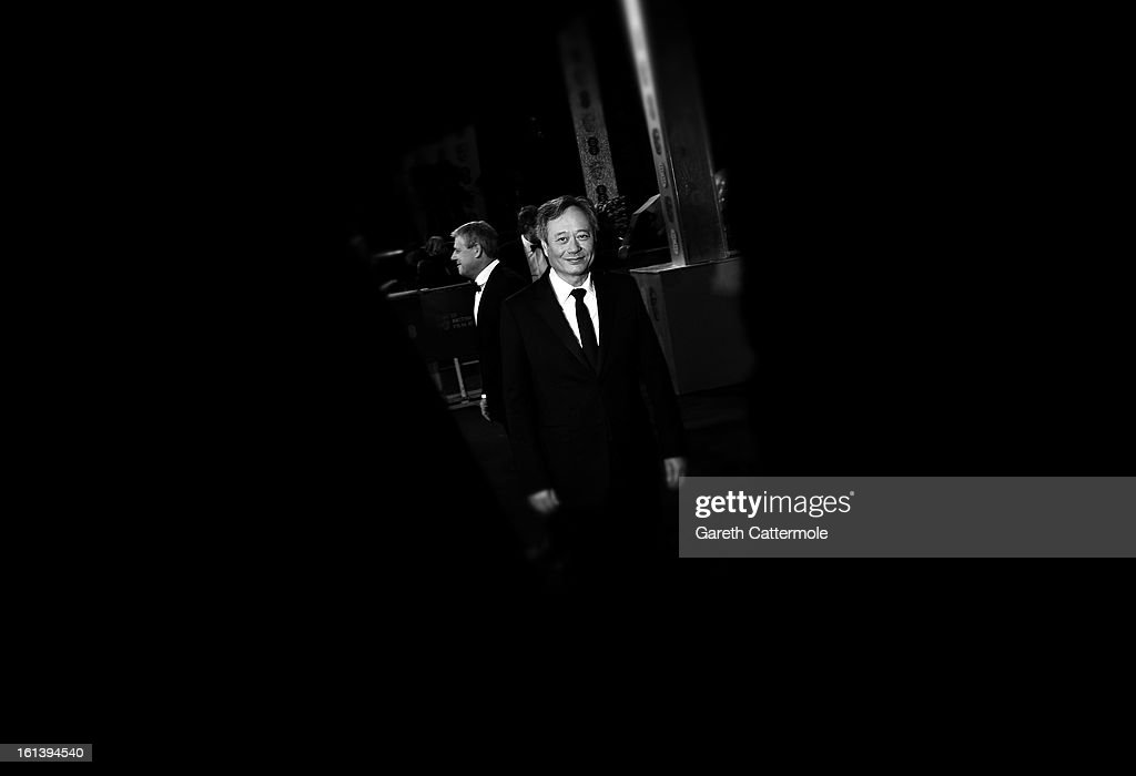 <a gi-track='captionPersonalityLinkClicked' href=/galleries/search?phrase=Ang+Lee&family=editorial&specificpeople=215104 ng-click='$event.stopPropagation()'>Ang Lee</a> attends the EE British Academy Film Awards at The Royal Opera House on February 10, 2013 in London, England.