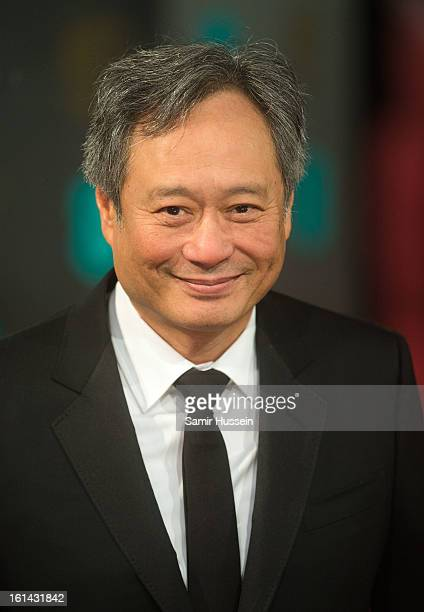 Ang Lee attends the EE British Academy Film Awards at The Royal Opera House on February 10 2013 in London England