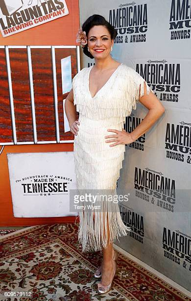 Angaleena Presley attends the Americana Honors Awards 2016 at Ryman Auditorium on September 21 2016 in Nashville Tennessee