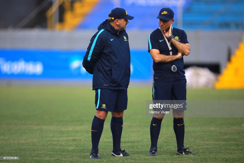 Socceroos Press Conference & Training