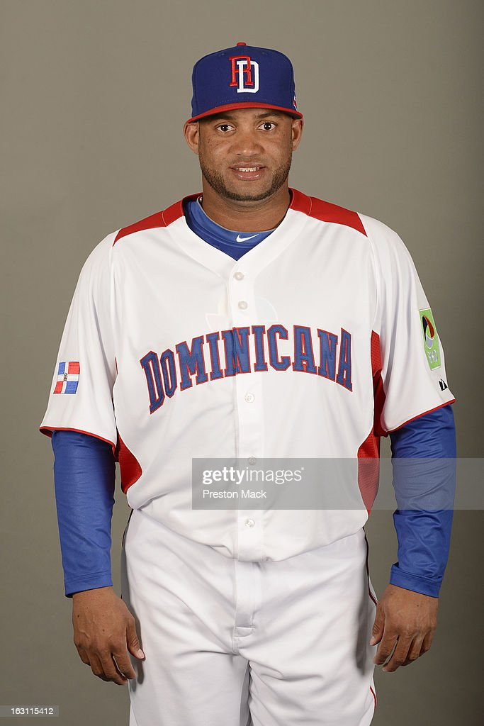 Angel Castro #45 of Team Dominican Republic poses for a headshot for the 2013 World Baseball Classic on March 4, 2013 at George M. Steinbrenner Field in Tampa, Florida.