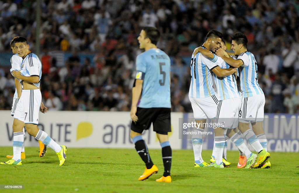 Argentina v Uruguay - Sudamericano Sub-20 Uruguay 2015