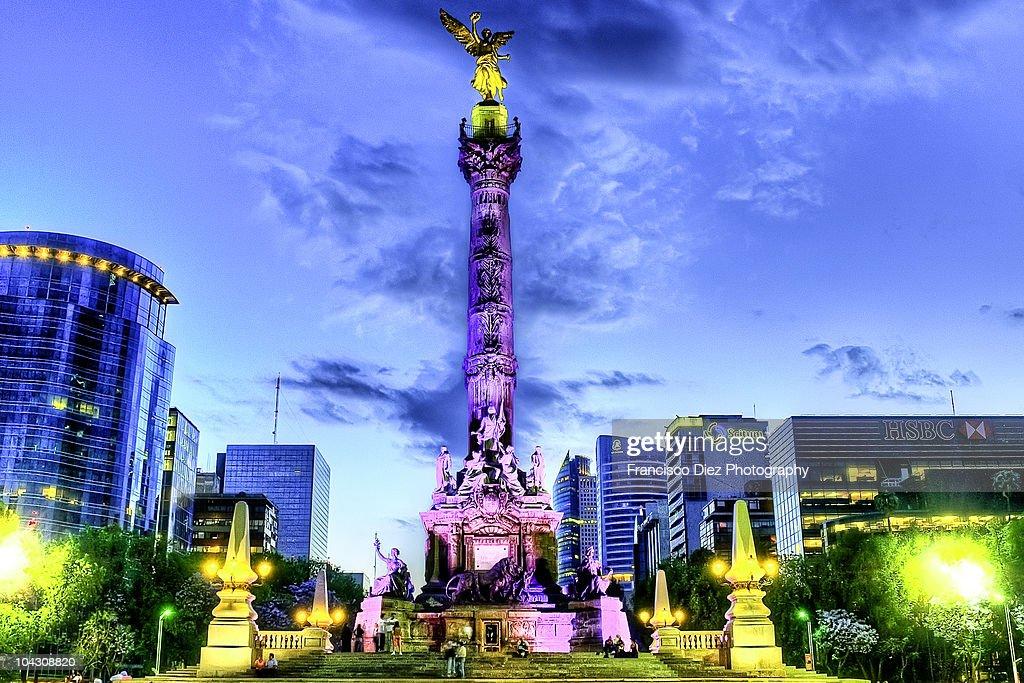 Angel de la Independencia, Mexico City : Stock Photo