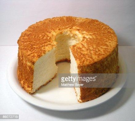 Angel Food Cake : Stock Photo