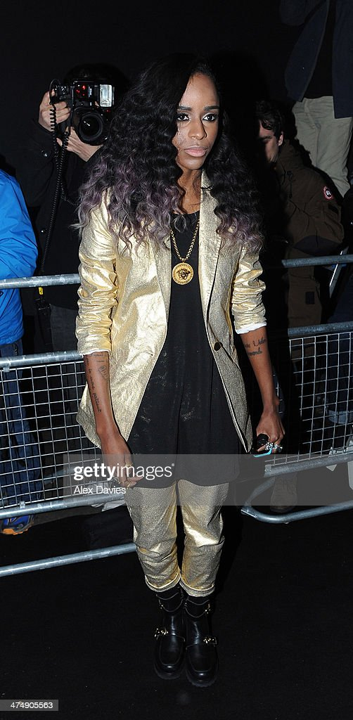 Angel Haze sighting during the BRIT awards on February 19, 2014 in London, England.