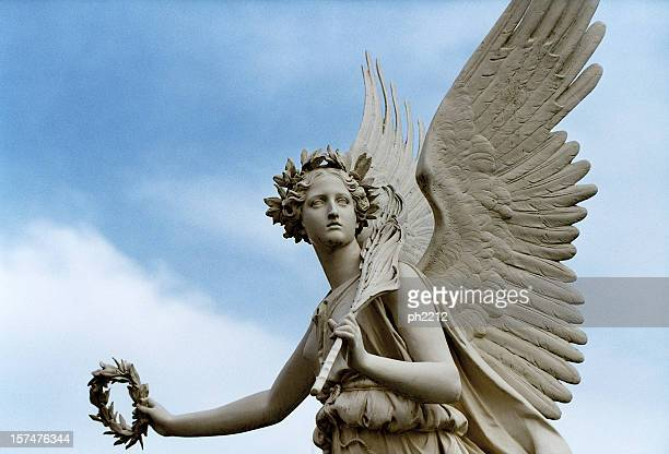 Angel holding a Candelabrum