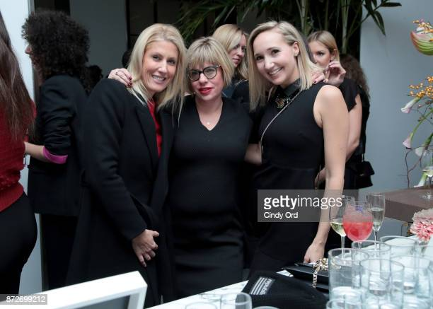 Angel Investor Sara Christensen L'Oreal VP Innovation Rachel Weiss and Picture Motion Founder CEO Christie Marchese attend The Girlboss Founders'...