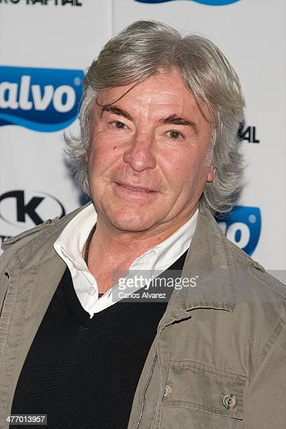 Angel Nieto attends the new Calvo Team 2014 presentation at the Kapital Theater on March 6 2014 in Madrid Spain