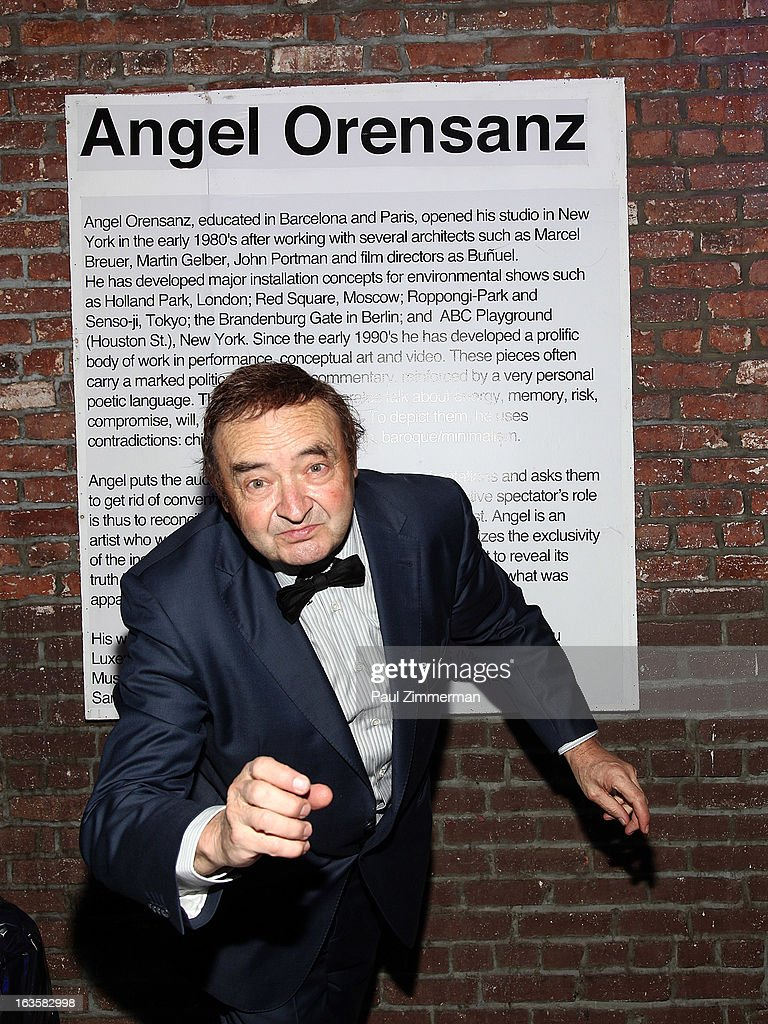 Angel Orensanz attends ROCK ART LOVE at The Angel Orensanz Foundation on March 12, 2013 in New York City.