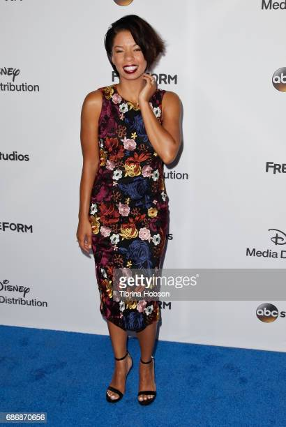 Angel Parker attends the 2017 ABC/Disney Media Distribution International Upfronts at Walt Disney Studio Lot on May 21 2017 in Burbank California