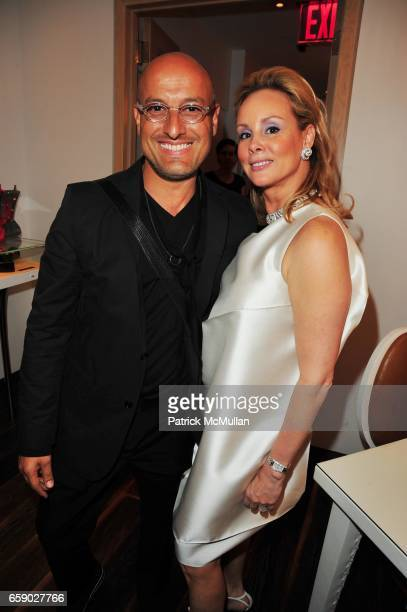 Angel Sanchez and Yaz Hernandez attend EL MUSEO 2009 PreGala at Mauboussin NYC on April 27 2009