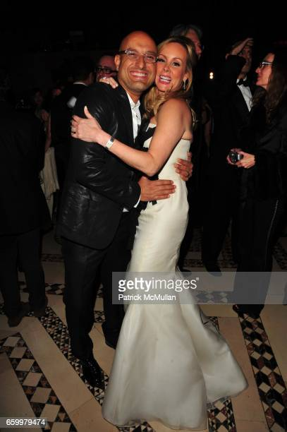 Angel Sanchez and Yaz Hernandez attend El MUSEO Gala at Cipriani 42nd St on May 20 2009 in New York City