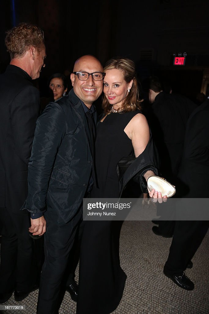Angel Sanchez and Yaz Hernandez attend the 67th Anniversary Jose Limon Dance Foundation Gala at Capitale on April 29, 2013 in New York City.