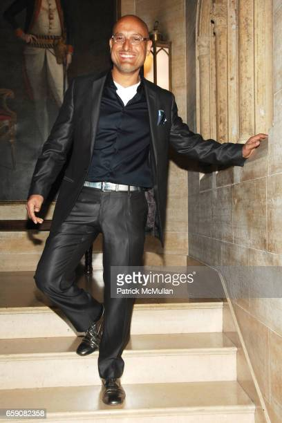 Angel Sanchez attends KIPS BAY BOYS GIRLS CLUB 2009 Preview Gala Cocktails at ASPREY at Kips Bay Decorator Show House Asprey on April 16 2009 in New...