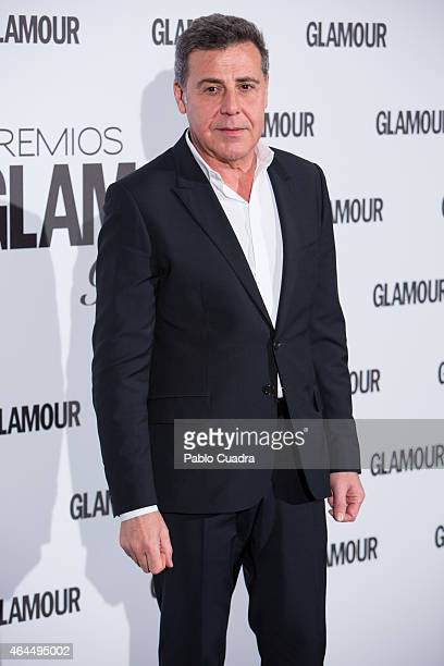 Angel Schlesser attends 'Glamour Beauty Awards' at Palace hotel on February 26 2015 in Madrid Spain