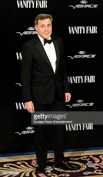 Angel Schlesser attends the gala for Placido Domingo as 'Vanity Fair Personality Of The Year' on November 16 2015 in Madrid Spain