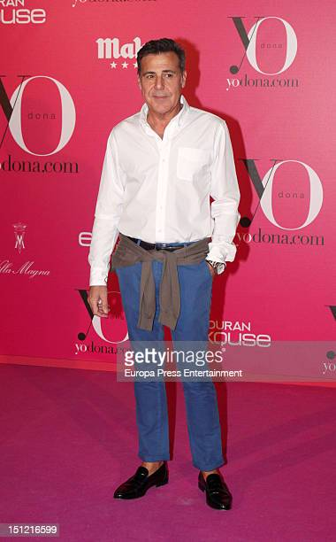 Angel Schlesser attends the 'Yo Dona' Magazine cocktail at Villa Magna Hotel on September 3 2012 in Madrid Spain