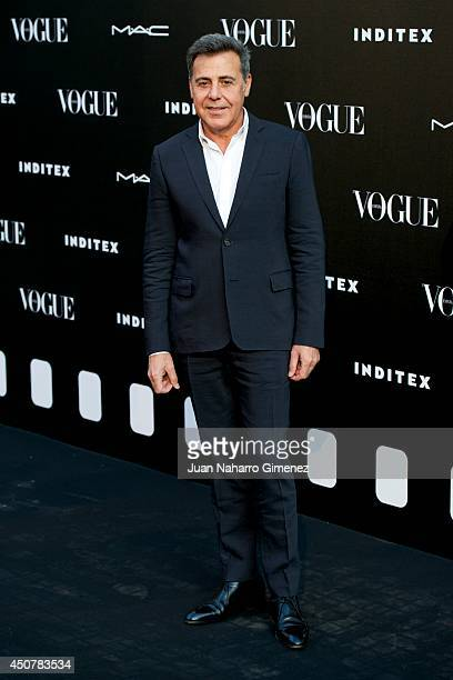 Angel Schlesser attends 'Vogue Who's On Next' party at Embassy of Italy on June 17 2014 in Madrid Spain