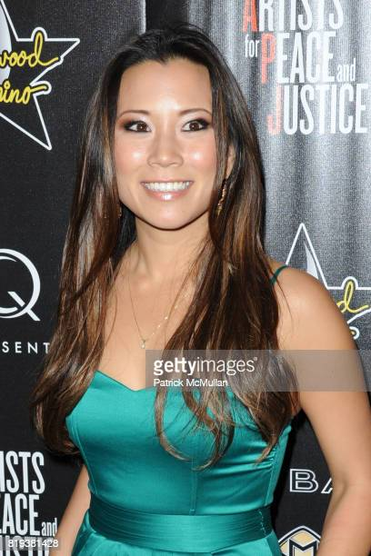 Angel Sun attends 3rd Annual PreOscar Hollywood DOMINO Gala Benefiting Artists for Peace and Justice at BAR 210 on March 4 2010 in Beverly Hills...