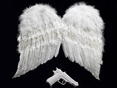 Angel wing and the gun