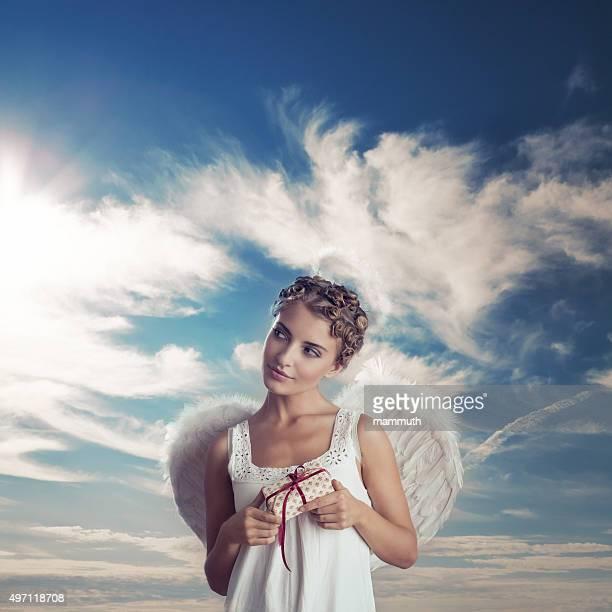 Angel mit Geschenken