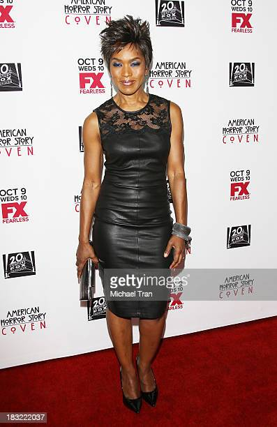 Angela Bassett arrives at the premiere of FX's 'American Horror Story Coven' held at Pacific Design Center on October 5 2013 in West Hollywood...