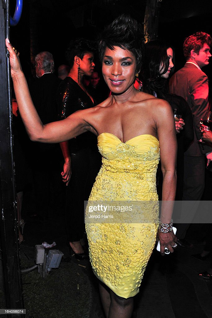 Angela Bassett attends 'Olympus Has Fallen' Premiere Reception presented by Grey Goose Vodka at Lure on March 18, 2013 in Hollywood, California.