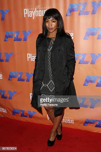 Angela Bassett attends opening night of 'Fly' at Pasadena Playhouse on January 31 2016 in Pasadena California