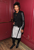 Angela Bassett attends the after party for The Cinema Society with Roger Dubuis and Grey Goose screening of FilmDistrict's 'Olympus Has Fallen' at...