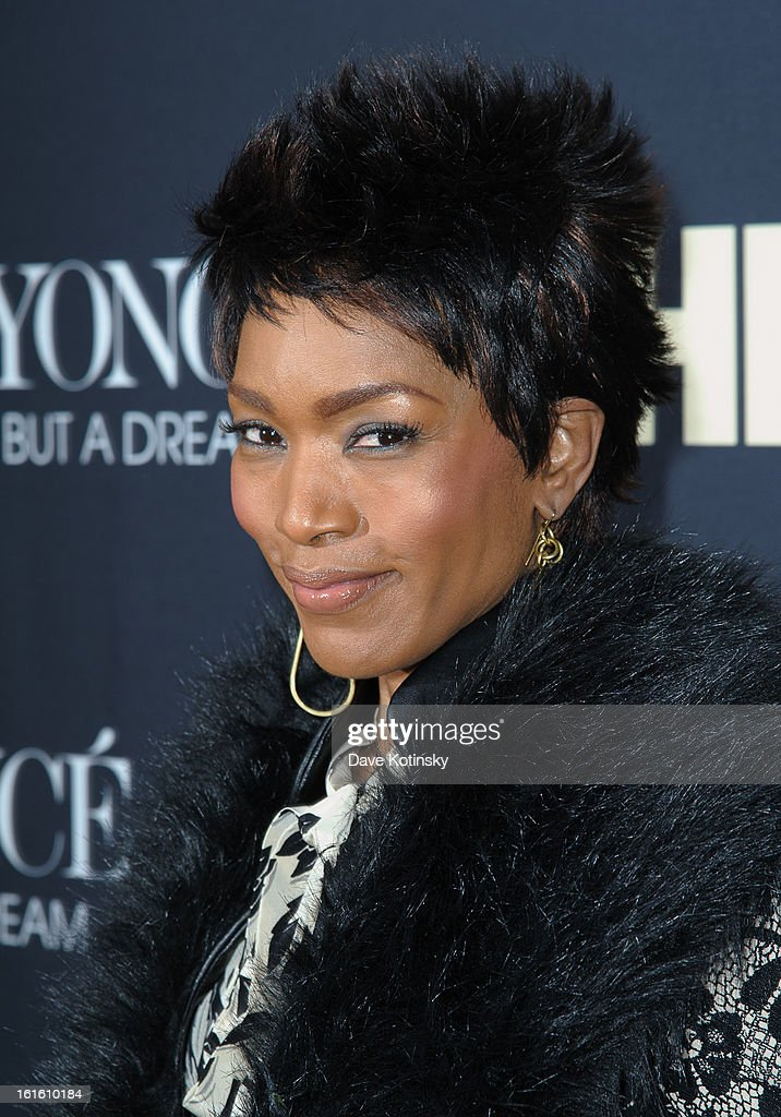 <a gi-track='captionPersonalityLinkClicked' href=/galleries/search?phrase=Angela+Bassett&family=editorial&specificpeople=171174 ng-click='$event.stopPropagation()'>Angela Bassett</a> attends the 'Beyonce: Life Is But A Dream' New York Premiere at Ziegfeld Theater on February 12, 2013 in New York City.