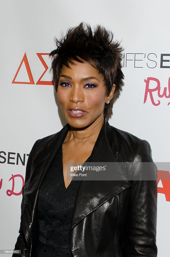 Angela Bassett attends the 'Life's Essentials With Ruby Dee' screening at The Schomburg Center for Research in Black Culture on November 14, 2012 in New York City.