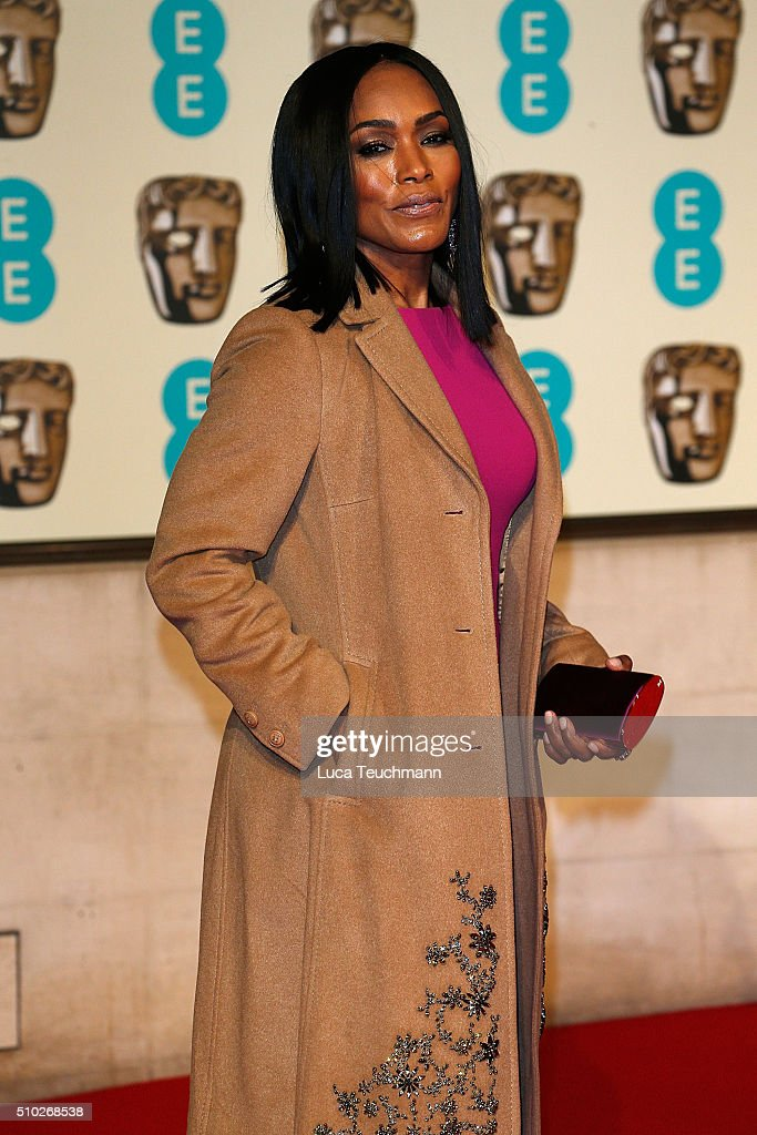 <a gi-track='captionPersonalityLinkClicked' href=/galleries/search?phrase=Angela+Bassett&family=editorial&specificpeople=171174 ng-click='$event.stopPropagation()'>Angela Bassett</a> attends the official After Party Dinner for the EE British Academy Film Awards at The Grosvenor House Hotel on February 14, 2016 in London, England.