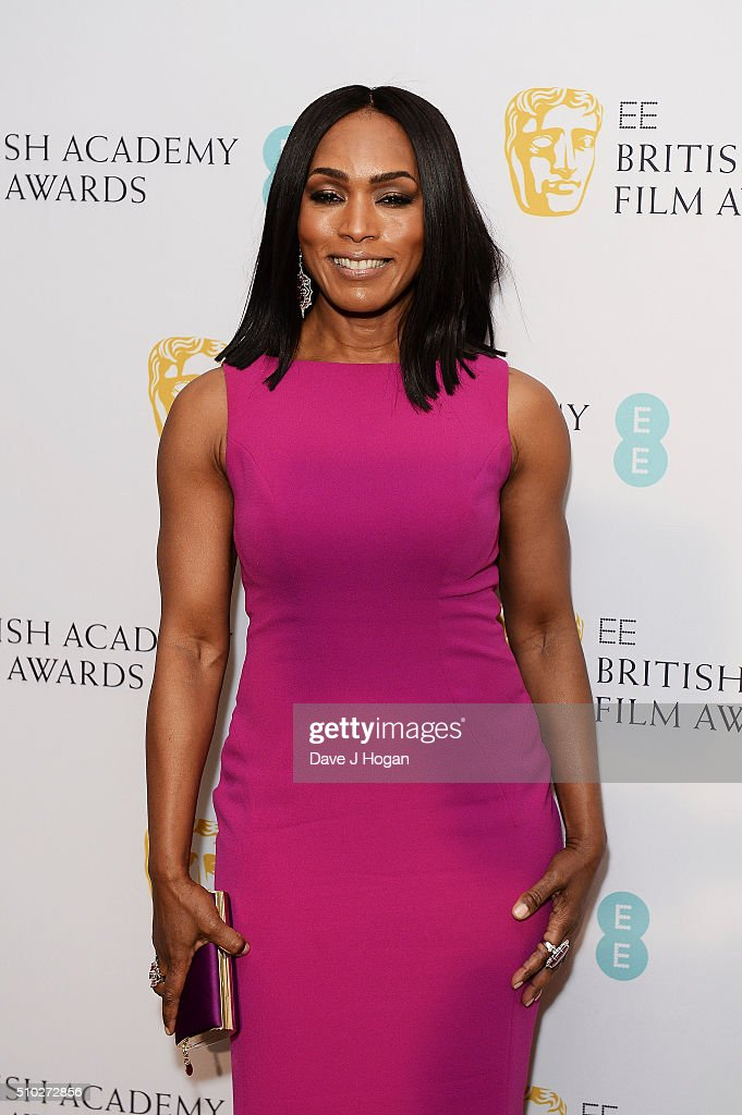 Angela Bassett attends the official After Party Dinner for the EE British Academy Film Awards at The Grosvenor House Hotel on February 14, 2016 in London, England.