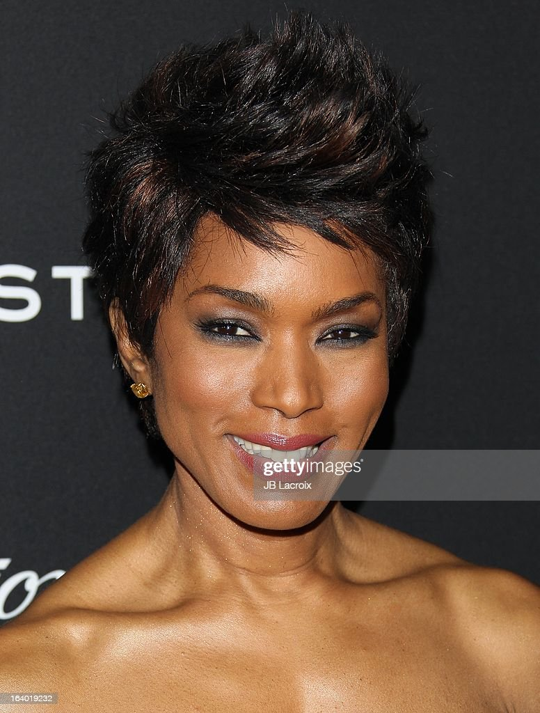 Angela Bassett attends the 'Olympus Has Fallen' Los Angeles Premiere held at ArcLight Cinemas Cinerama Dome on March 18, 2013 in Hollywood, California.