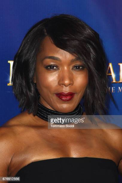 Angela Bassett attends the Premiere Of 'The Bodyguard' at the Pantages Theatre on May 2 2017 in Hollywood California