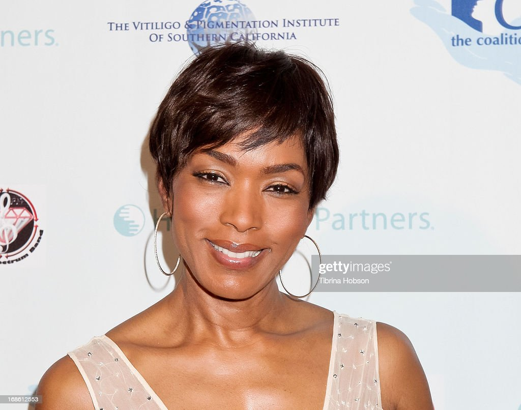 Angela Bassett attends the 'Shall We Dance' annual gala for the coalition for at-risk youth at The Beverly Hilton Hotel on May 11, 2013 in Beverly Hills, California.