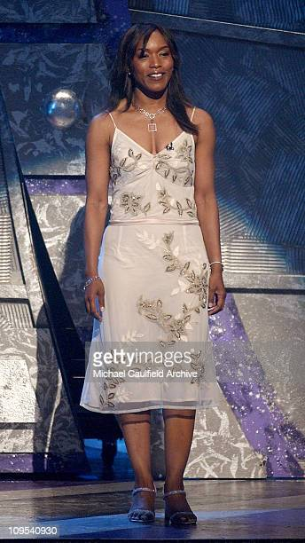 Angela Bassett during 4th Annual BET Awards Show at Kodak Theatre in Hollywood California United States