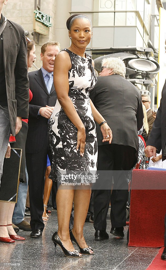 Angela Bassett during Forest Whitaker Honored with a Star on the Hollywood Walk of Fame in Hollywood California United States