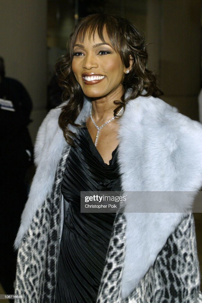 Angela Bassett during The 17th Annual American Cinematheque Award Honoring Denzel Washington Arivals and Press Room at Beverly Hilton Hotel in...