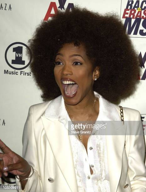 Angela Bassett during The 9th Annual Race To Erase MS Dinner at Century Plaza in Century City California United States