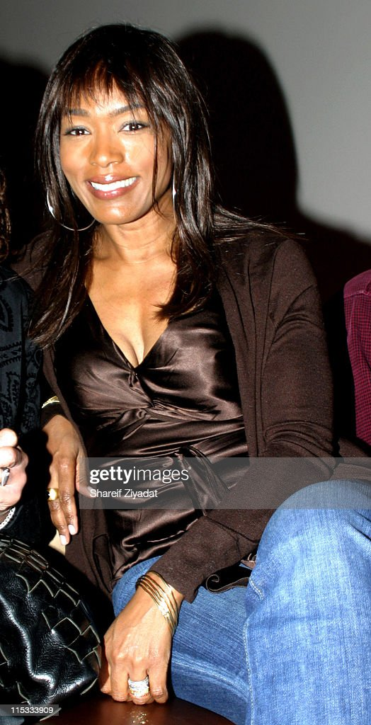 Angela Bassett during Wyclef Jean's Yele Haiti Fundraiser 2004 at Glo in New York City New York United States