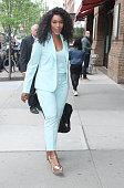 Celebrity Sightings In New York City - April 25, 2019
