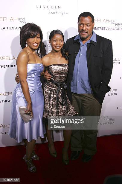 Angela Bassett Keke Palmer and Laurence Fishburne