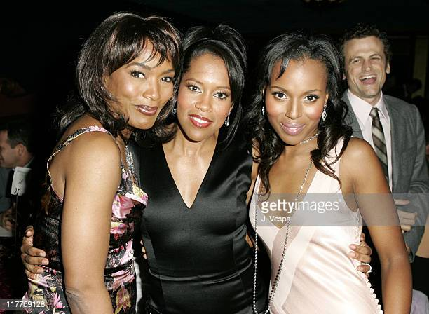 Angela Bassett Regina King and Kerry Washington during Hollywood Life's 4th Annual Breakthrough of the Year Awards Audience and Backstage at Henry...
