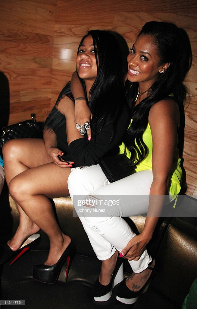 Angela Beyince and La La Anthony attend Greenhouse Tuesdays at Greenhouse on May 29, 2012 in New York City.