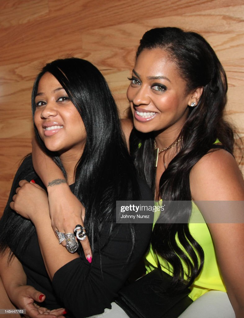 Angela Beyince and <a gi-track='captionPersonalityLinkClicked' href=/galleries/search?phrase=La+La+Anthony&family=editorial&specificpeople=209433 ng-click='$event.stopPropagation()'>La La Anthony</a> attend Greenhouse Tuesdays at Greenhouse on May 29, 2012 in New York City.